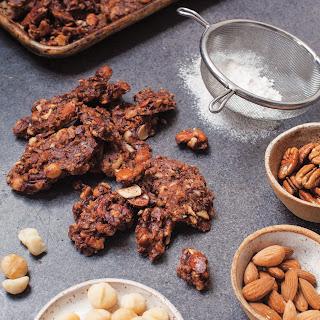Keto Paleo Chocolate Granola Recipe
