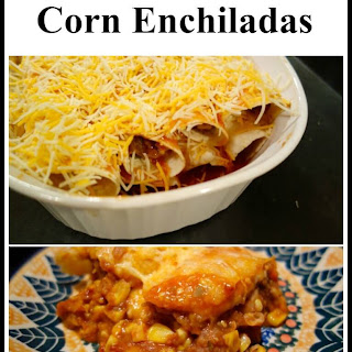 Zucchini-Refried Bean Enchiladas