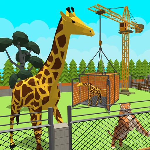 Zoo Craft : Blocky World Construction & Builder (game)