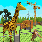 Zoo Craft : Blocky World Construction & Builder