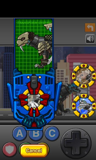 Smilodon Black - Transform! Dino Robot 1.0.0 screenshots 4
