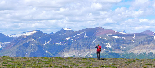Photo: Greg taking it all in. This may be the most scenic hike that I have ever done.