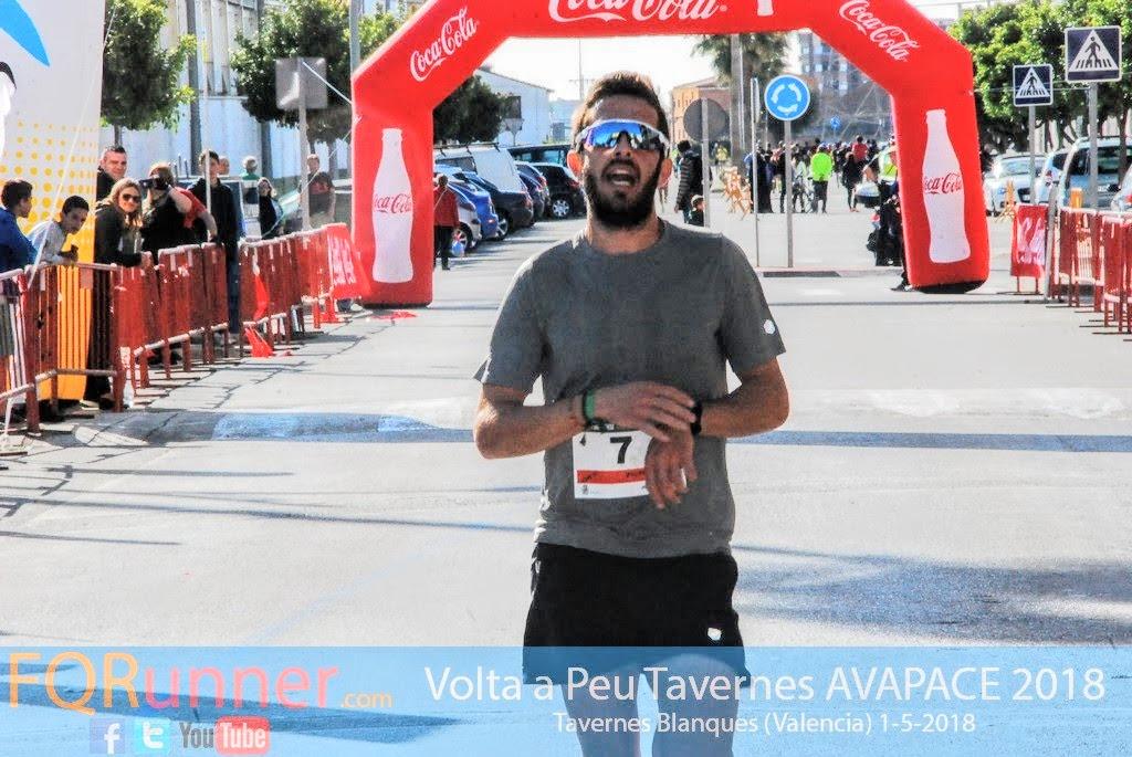 Víctor Martínez Hernández del Atletismo Yatova