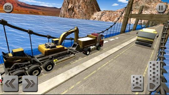 Sand Excavator Truck Driving Rescue Simulator game 2