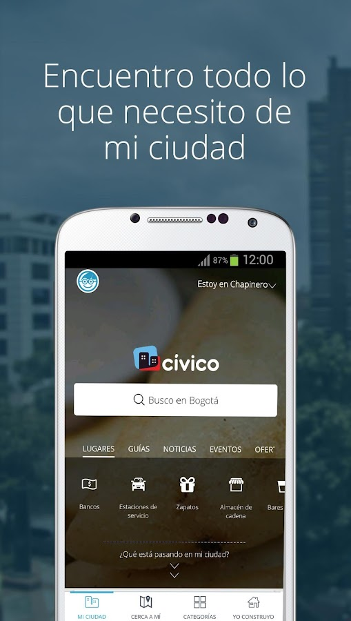 CIVICO- screenshot