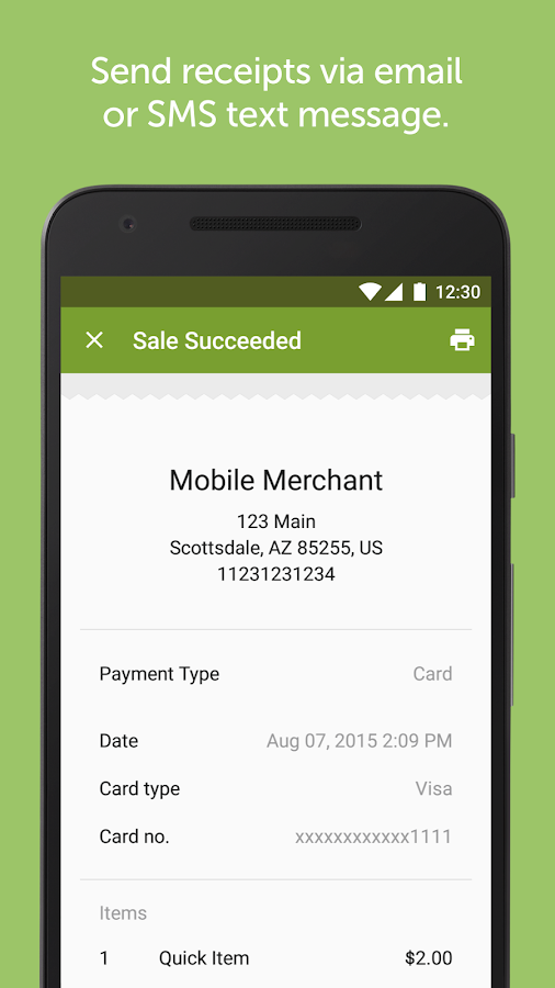 Mobile Pay by Global Payments- screenshot