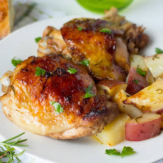 Roasted Red Potatoes And Chicken Thighs Recipes.