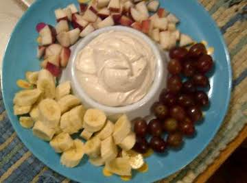 Sweet and Creamy Fruit Dip