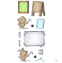 Inky Antics Clear Stamp Set - Artist Critters UTGÅENDE