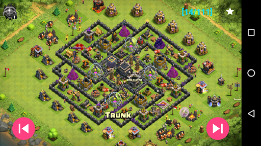 Maps of Coc TH9 1.1.3 7