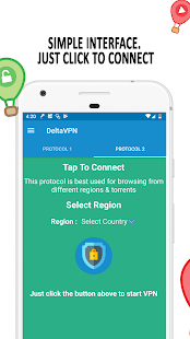 Best Free VPN - Delta VPN | Unlimited VPN Hotspot Screenshot