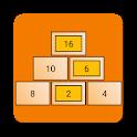 Aritgram - Pyramid Sums Cross Math Puzzle icon