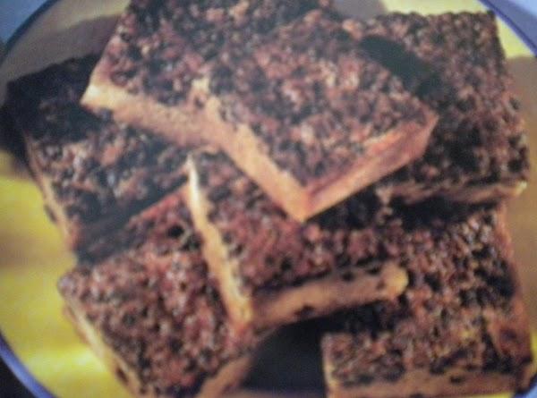 Apple Sauce Currant Spice Squares Recipe