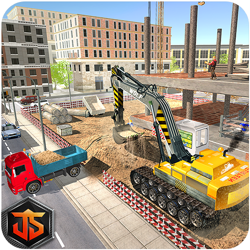 Construction Sim City Free: Excavator Builder
