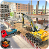 Construction Sim City Free: constructeur de pelle