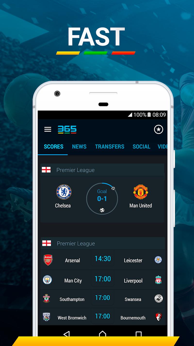 365Scores - Live Sports Score, News & Highlights Screenshot 7