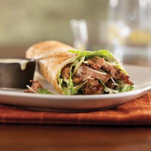 Pulled Pork Caesar Wrap