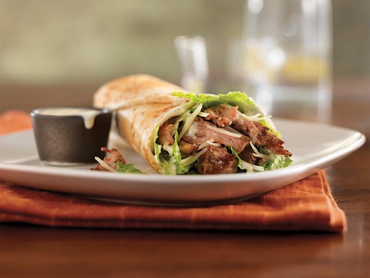 Pulled Pork Caesar Wrap Recipe