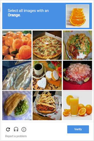 reCAPTCHA Help