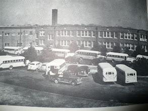 Photo: Rear of High School