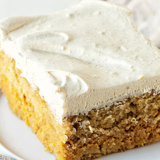 Pumpkin Spice Latte Magic Cake