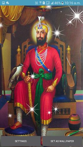 Guru Gobind Singh Ji Jayanti Live Wallpaper