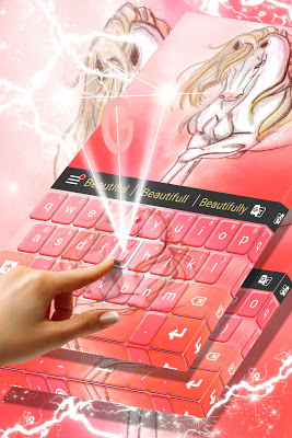 Pony Keyboard Theme - screenshot