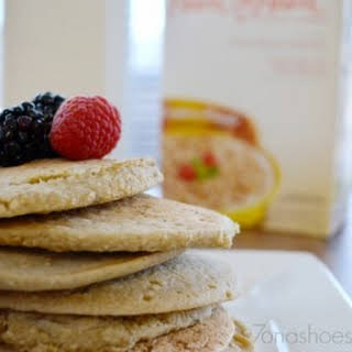 3 Ingredient Pancakes Made with Kashi Oats.