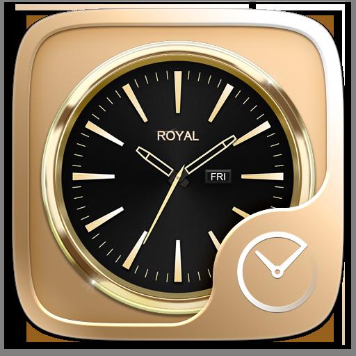 Royal GO Clock Theme