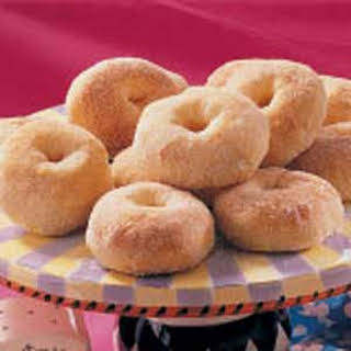 No-Fry Potato Doughnuts.