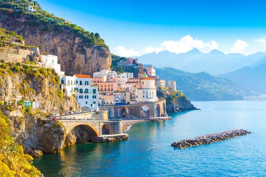 Conoce la costa de Amalfi en un crucero por Italia con Norwegian