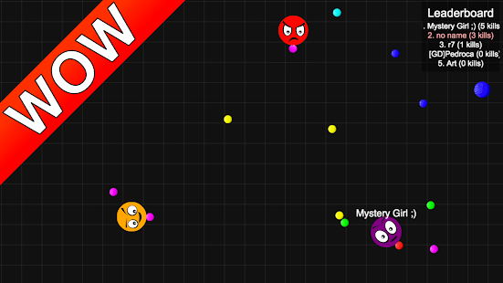 Dodgeballs.io IO Game- screenshot thumbnail
