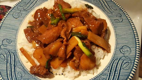 Pork With Green Onions