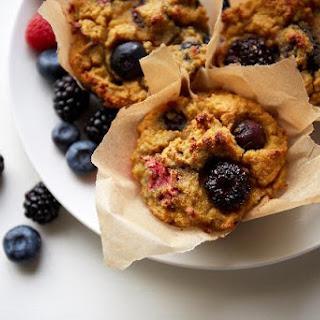 Paleo Mixed Berry And Orange Muffins