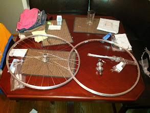 Photo: Wheel Build in progress