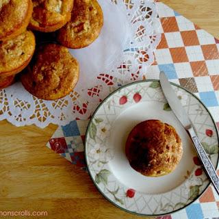 Pear, Ginger & Mandarin Muffins