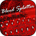 Scary Blood Splatter Keyboard icon