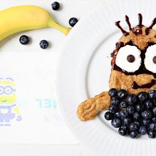 Despicable Me 3 Minion Banana Pancakes Recipe