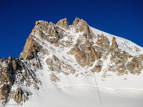 Photo: Aiguille Chardonnet East Couloir
