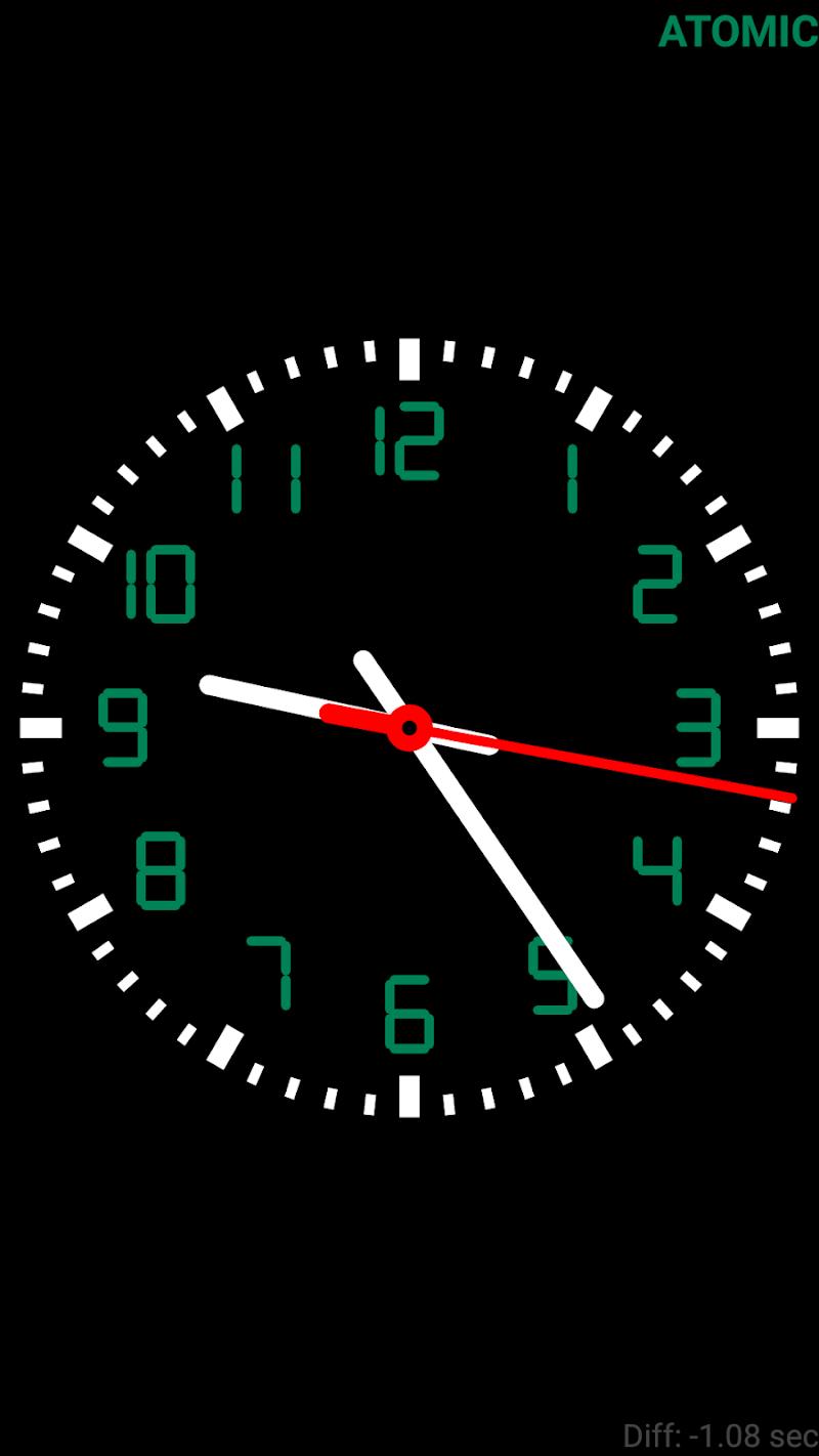 Clock Seconds Pro + Widget Screenshot 1