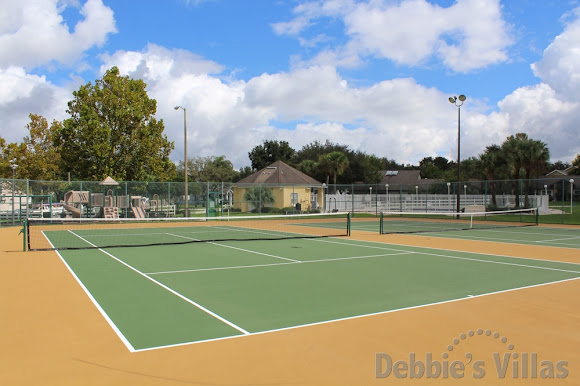 Tennis court for guest use
