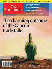 Photo: Cactus Flipping The Bird on Cover of The Economist Sept 20 2003 as Referred to in the Texas 3rd Court of Appeals Austin,TX Travis County Case) [http://www.firstamendmentcenter.org/fighting-words ]  the Acquittal of a Bird sign Flashed By Truck Driver Coggin [In OVERTAKING MANEUVER] to Caldwell Co Jailer and Wife Hogging The Fast Lane-They called 911 Coggin was Arrested for Disorderly Conduct for a Rude-Obscene Gesture Coggin won As There was NO BREECH OF THE PEACE!! The Variation on The O'Brien test-Burning Draft Card and Cohen F___K The DRAFT !! Jacket Arrest Overturned at US Supreme Court Texas Courts of Appeals Online-As Read in High-Tech SURVEILLANCE & Discussed with DEFECTIVE LEADERSHIP INCOMPETENT SUPERVISION Tyler PD Sgt Gecking & FALSE DETENTION/ARREST As Explained at 4 Corners Trying To Save Snokitty Dana Dixon Ofc. DICKHEAD (Dickey) &The FUZZ Between The Legs of Flavia Penetta Ofc Forbey   http://www.3rdcoa.courts.state.tx.us/opinions/HTMLopinion.asp?OpinionID=12238