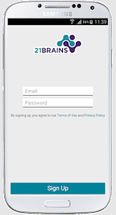 21Brains - Sourcing App- screenshot thumbnail