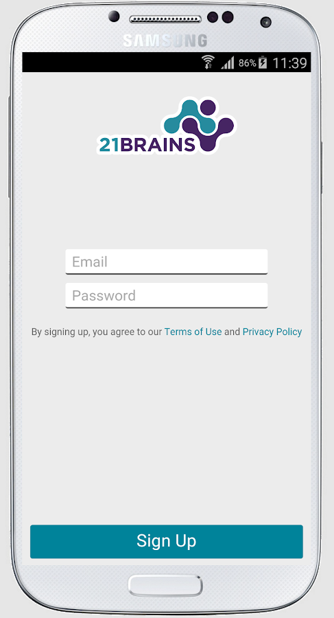 21Brains - Sourcing App- screenshot