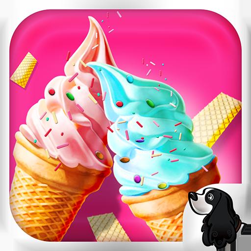 休闲のアイスクリームメーカー無料キッズゲーム LOGO-記事Game