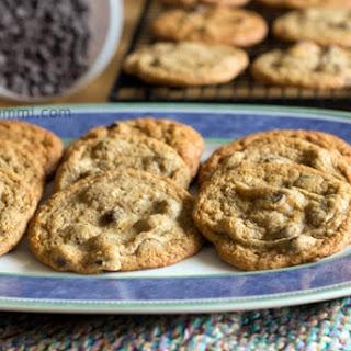 Low-Carb Caramel Chocolate Chip Cookies.