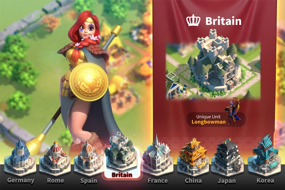 Rise of Kingdoms: Lost Crusade Android App Screenshot
