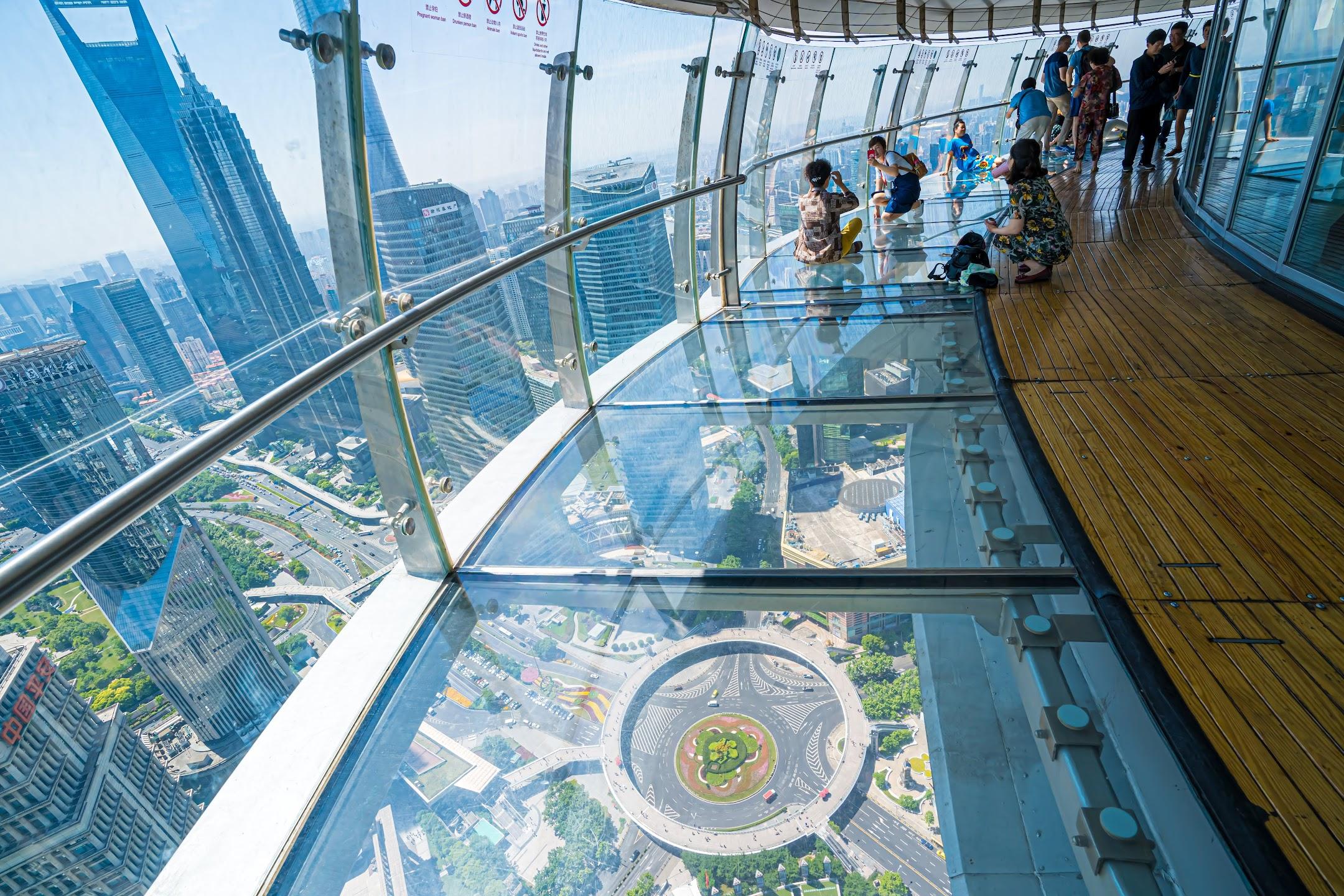 Shanghai Oriental Pearl Tower observation deck5