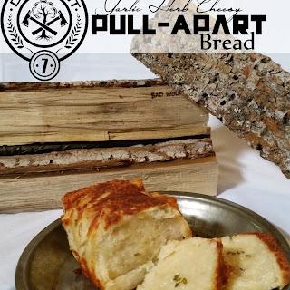 Garlic Herb Cheesy Pull-Apart Bread.