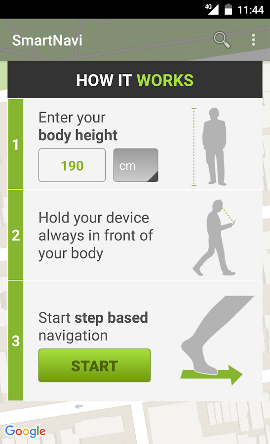 SmartNavi - Step Navigation- screenshot